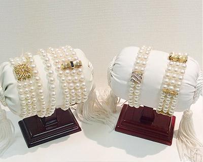 pearl-bracelets-gold-double